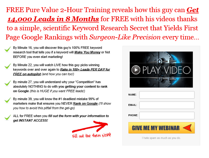 Keyword Research Secret