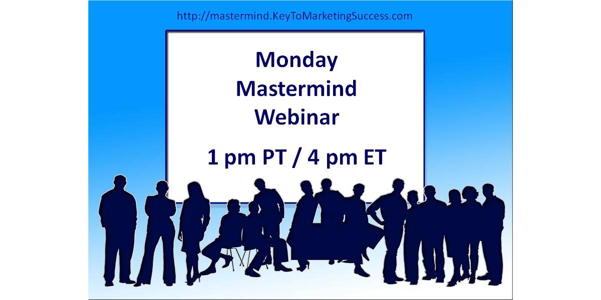 Monday Mastermind Webinar