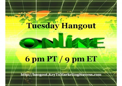 Tuesday Hangout Webinar