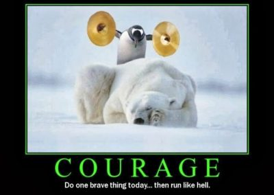 Courage: Do One Brave Thing Today